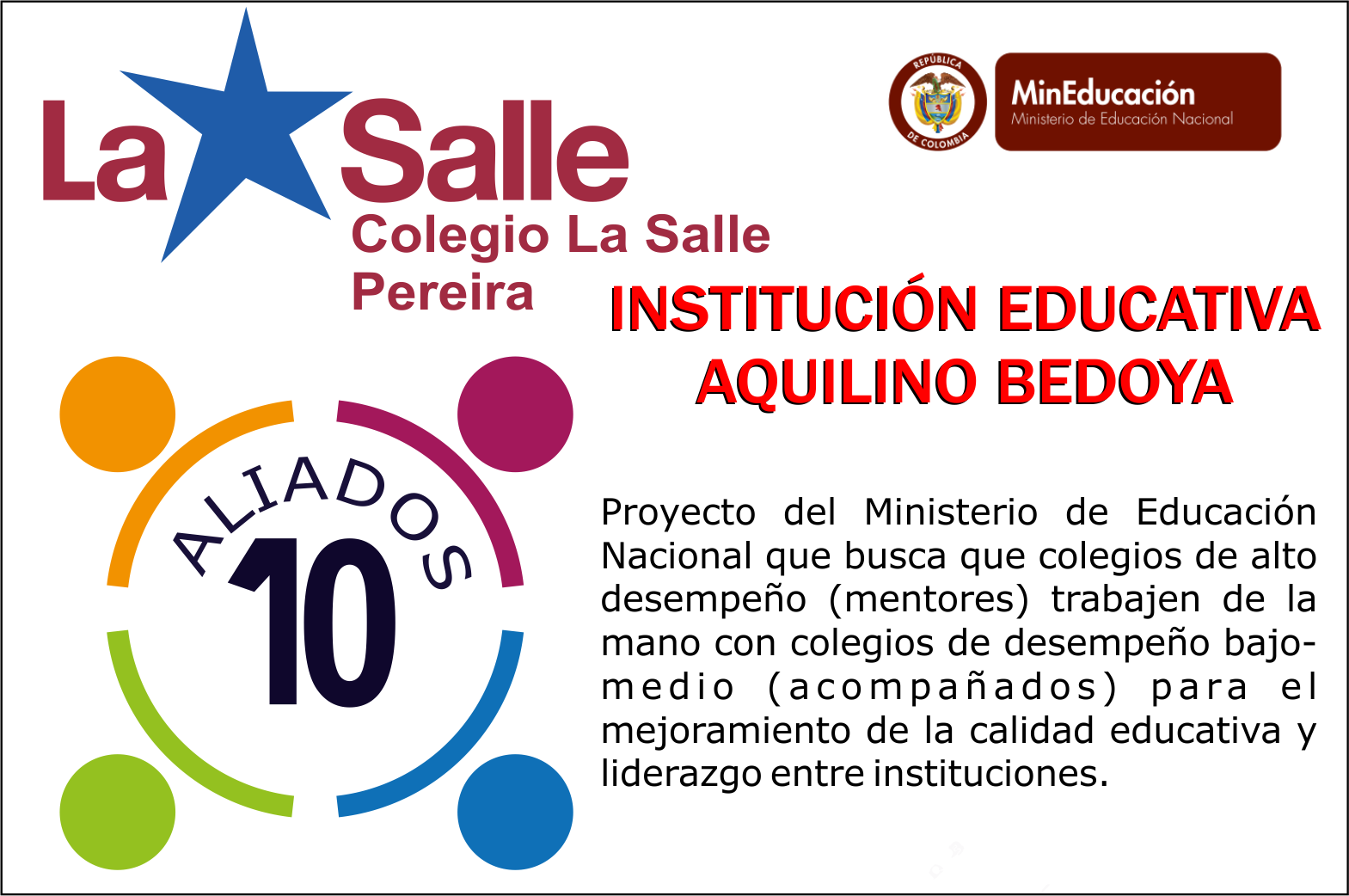 institucion educativa bedoya